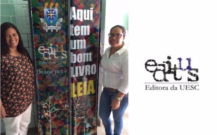 """Editus inicia projeto """"Um lugar para ler"""" nas escolas de Ilhéus"""