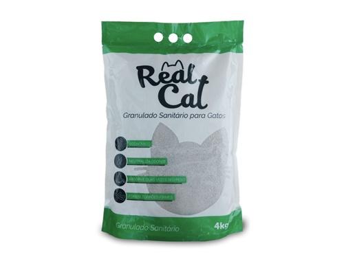 Real Cat Super Premium Granulado Sanitário 4kg