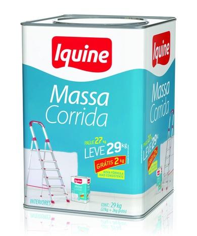 MASSA CORRIDA PVA 3,6L IQUINE 5,4KG