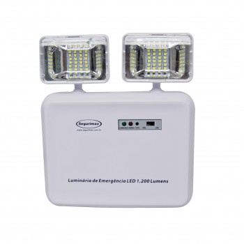 BLOCO DE EMERGENCIA LED 1200 LUMENS