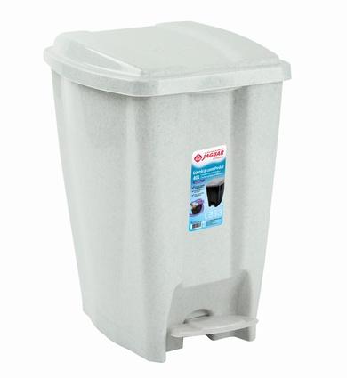 LIXEIRA PLAST C/PEDAL 20L BR