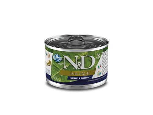 N&D Canine Lata Prime Cordeiro 140g