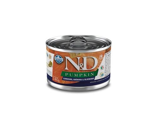 N&D Caninen Lata Pumpkin Cordeiro 140g