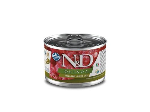 N&D Canine Lata Quinoa Skin Pato 140g
