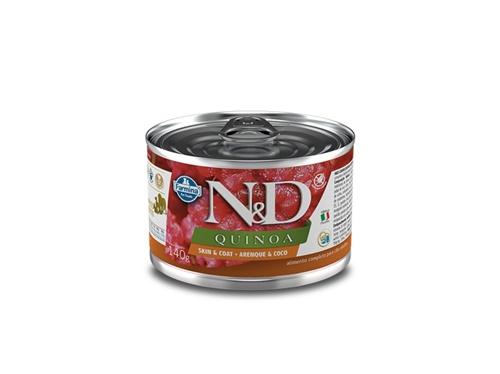N&D Canine Lata Quinoa Skin Arenque 140g