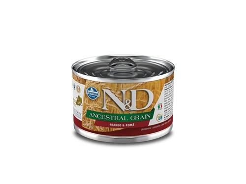 N&D Canine Lata Ancestral Frango 140g