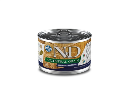 N&D Canine Lata Ancestral Cordeiro 140g