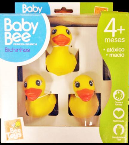 Patinho 3 Filhotes - Bee Toys