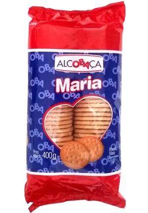 BISCOITO ALCOBACA 400 G MARIA