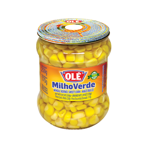 MILHO VERDE VIDRO 170 GR OLE