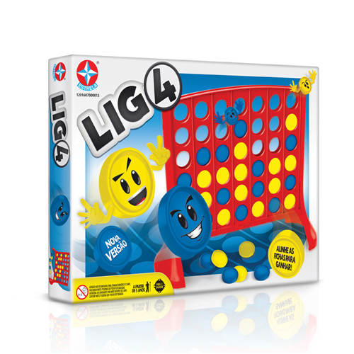 Jogo Lig 4 - Estrela