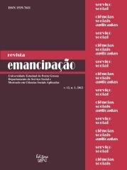 REVISTA EMANCIPAÇÃO - 2012 - 12(1)