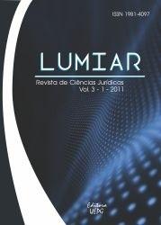 REVISTA LUMIAR de Ciências Jurídicas - 2011 - 3(1)