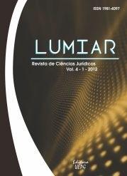 REVISTA LUMIAR de Ciências Jurídicas - 2012 - 4(1)