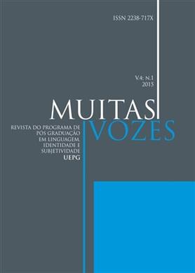 REVISTA MUITAS VOZES - 2015 - 4(1) - Dossiê: Identidades sociais de raça em estudos da linguagem