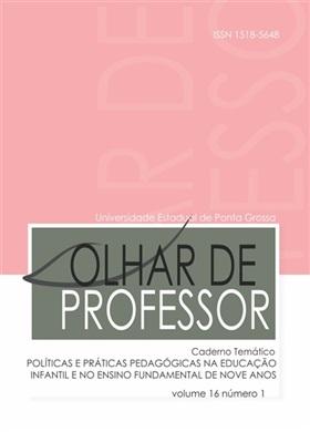 REVISTA OLHAR DE PROFESSOR - 2013 - 16(1)