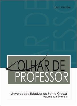 REVISTA OLHAR DE PROFESSOR - 2010 - 13(1)