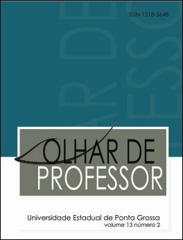 REVISTA OLHAR DE PROFESSOR - 2010 - 13(2)
