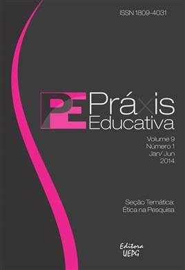 REVISTA PRÁXIS EDUCATIVA - 2014 - 9(1) - Ética na Pesquisa