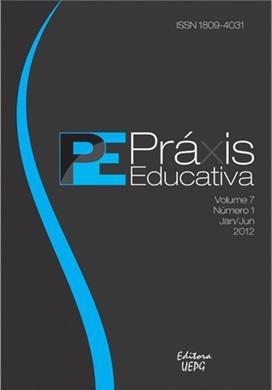 REVISTA PRÁXIS EDUCATIVA - 2012 - 7(1)