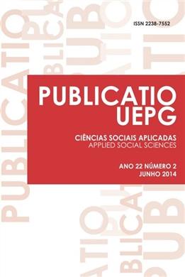 REVISTA PUBLICATIO - Ciências Sociais Aplicadas - 2014 - 22(2)