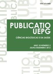 REVISTA PUBLICATIO Ciências Biológicas e da Saúde - 2012 - 18(2)