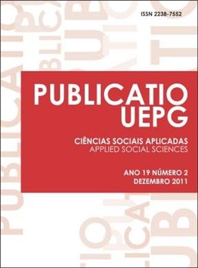 REVISTA PUBLICATIO Ciências Sociais Aplicadas - 2011 - 19(2)
