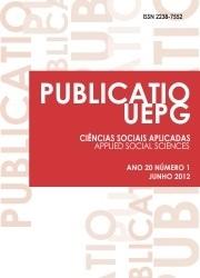 REVISTA PUBLICATIO Ciências Sociais Aplicadas - 2012 - 20(1)