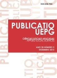 REVISTA PUBLICATIO Ciências Sociais Aplicadas - 2012 - 20(2)