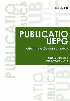 REVISTA PUBLICATIO UEPG - Ciências Biológicas e da Saúde - 2013 - 19(1)