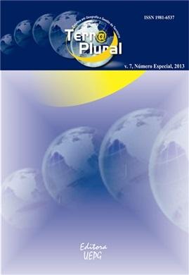REVISTA TERRA PLURAL  - 2013 - 7 (número especial)