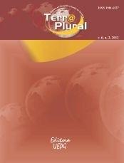 REVISTA TERRA PLURAL - 2012 - 6(2)