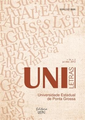 REVISTA UNILETRAS - 2012 - 34(2)