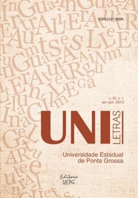REVISTA UNILETRAS - 2013 - 35(1) - Geografia textuais e as configurações da linguagem