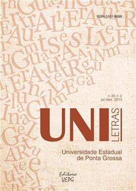 REVISTA UNILETRAS - 2013 - 35(2) - Figurações de gênero e raça nos discursos culturais