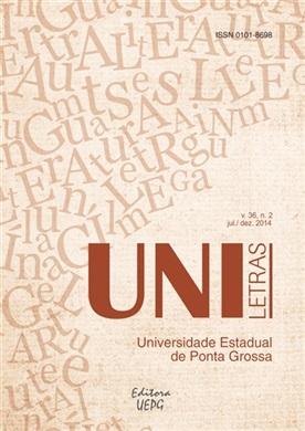 REVISTA UNILETRAS - 2014 - 36(2) - Discursos Ex/Cêntricos