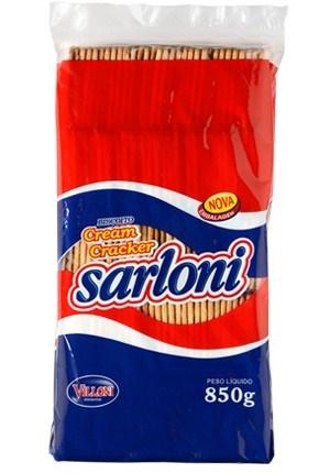 BISCOITO SARLONI CREAM CRACKER 800 G