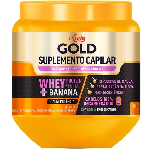 SUPLEMENTO CAPILAR NIELY GOLD 800G WHEY