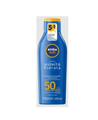 PROTETOR SOLAR NIVEA FPS 50 125ML