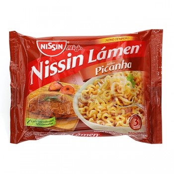 MACARRAO INST. 85 G NISSIN PICANHA