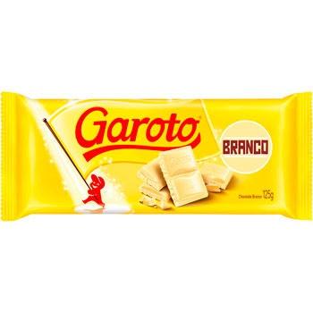 CHOCOLATE GAROTO BARRA BRANCO 90 G