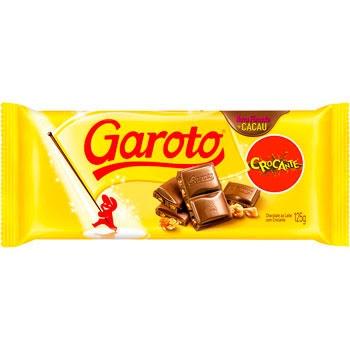 CHOCOLATE GAROTO BARRA CROCANTE 90 G