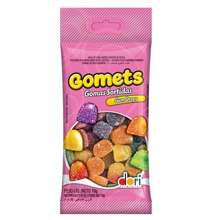 BALA GOMA GOMETS DORI 70 G