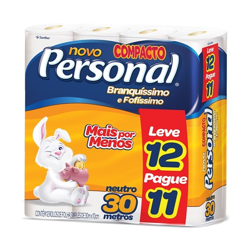 PAPEL HIG. 12X1 PERSONAL NEUT.L12P11 30M