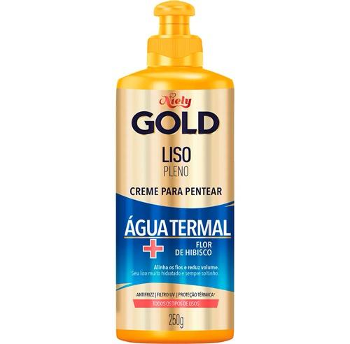 CREME DE PENTEAR NIELY GOLD 250G LISO PLENO - ÁGUA TERMAL