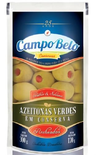 AZEITONA RECHEADA CAMPO BELO SACHE 170 G