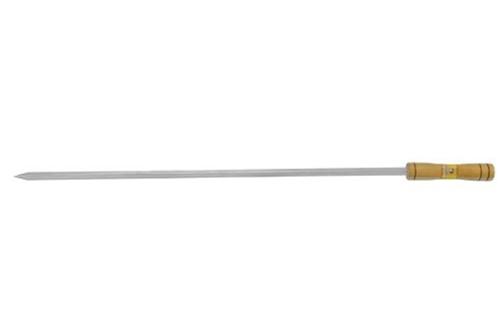 Espeto Simples 75cm Aço Estanhado Gaúcho Grill