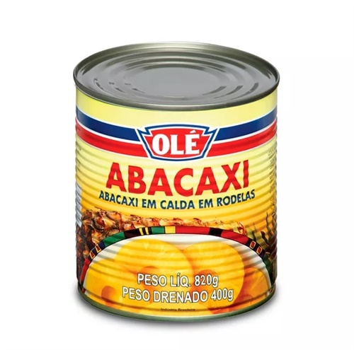 ABACAXI RODELA LT 400 G OLE
