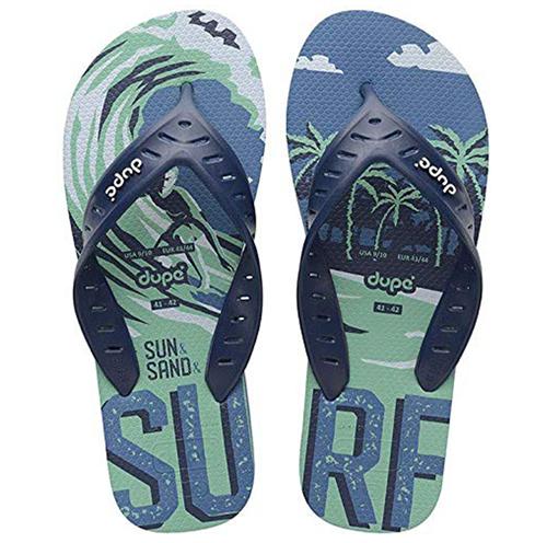 SANDÁLIAS DUPE  SURF PRO AZUL AÇO 39/40    1 PAR