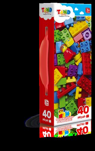 Mini Maleta Tand Kids 40 Peças - Toyster